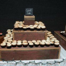 Barnwood Cupcake Holders
