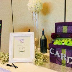 Purple Card Box