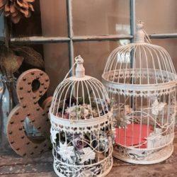 White Birdcages